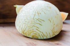 Cantalou découpé en tranches Photo stock