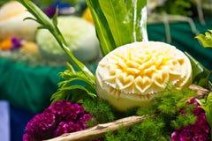 Cantaloup που χαράζει 11 Στοκ φωτογραφία με δικαίωμα ελεύθερης χρήσης