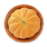 Cantaloup de cantaloup dans le paraboloïde en bois Image stock