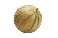 Cantaloup de melon, d'isolement Photographie stock libre de droits