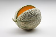 Cantaloup orange 3 de melon Photos libres de droits