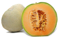 Cantaloupe 2 Royalty Free Stock Photography