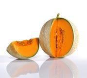 Cantaloupe. Royaltyfri Fotografi