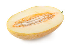 Cantaloupe isolated Stock Images