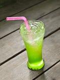 Cantaloupe italian soda Stock Image
