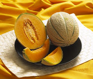 Cantaloupe melon Royalty Free Stock Images