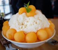 Cantaloupe Melon Dessert Royalty Free Stock Photos