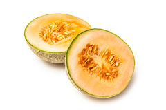 Cantaloupe melon fruit Stock Photography