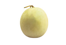 Cantaloupe melon isolate white background with clipping path Stock Images