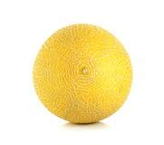 Cantaloupe melon isolated on the white background Royalty Free Stock Photos