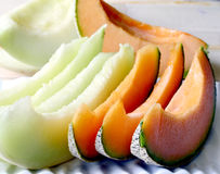 Cantaloupe melon. Royalty Free Stock Images