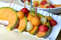 Cantaloupe melon. Stock Images