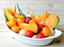 Cantaloupe melon. Stock Photos