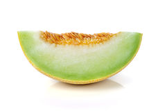 Cantaloupe melon slices Royalty Free Stock Photo