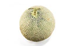 Cantaloupe Melon. On white background Royalty Free Stock Image