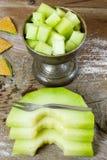 Cantaloupe melon Royalty Free Stock Photos