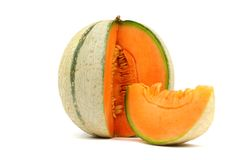 Cantaloupe melone Royalty Free Stock Photo