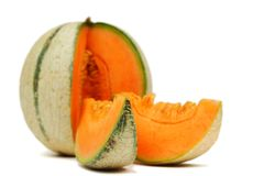 Cantaloupe melone Royalty Free Stock Photos