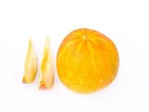 Cantaloupe melone isolated Stock Photo