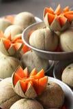 Cantaloupe Melons Stock Photos