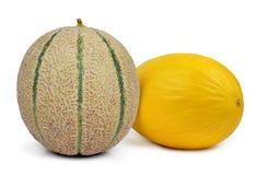Cantaloupe melons Royalty Free Stock Photos
