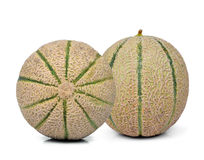 Cantaloupe melons Stock Photo