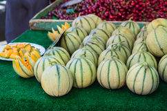Cantaloupe melons Royalty Free Stock Images