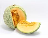 Cantaloupe rock melon Stock Photography