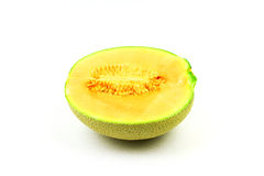 Cantaloupe or rock melon Stock Photography