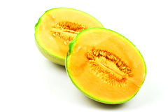 Cantaloupe or rock melon Royalty Free Stock Images