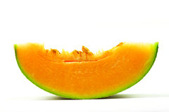 Cantaloupe or rock melon Stock Images