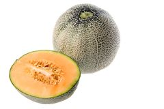 Cantaloupe or Rockmelon Stock Photos