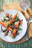 Cantaloupe salad Stock Photos