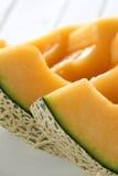 Cantaloupe slice Royalty Free Stock Photos