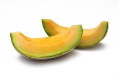 Cantaloupe Slices royalty free stock photography
