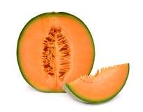Cantaloupemelon Fotografering för Bildbyråer