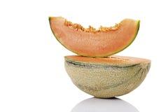 Cantaloupes, close-up Stock Images