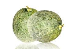 Cantaloupmelon Arkivbilder