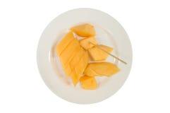 Cantaloupmelon. Royaltyfri Foto