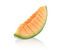 Cantaloupmelonmelonskivor Arkivfoto