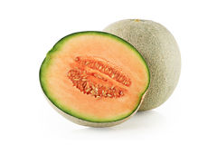 Cantaloupmelonmelonskivor Royaltyfri Bild