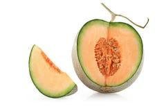 Cantaloupmelonmelonskivor Royaltyfri Foto