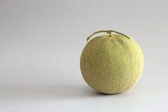 Cantalupo en el fondo blanco Fotografía de archivo
