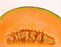 Cantalupo medio Fotografía de archivo