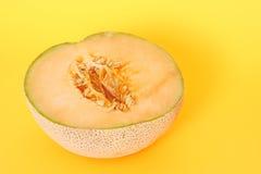 Cantalupo mezzo Fotografia Stock