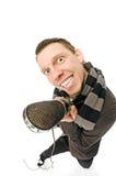 Cantante Fotografie Stock Libere da Diritti
