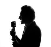 Cantante fotografía de archivo