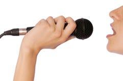 Cantante immagine stock libera da diritti