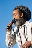Cantante 2 de Rastafarian Foto de archivo