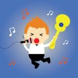Cantante  Imagen de archivo libre de regalías